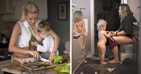 The Meaning Of Being A Mother Conveyed Through 22 Sincere Pictures