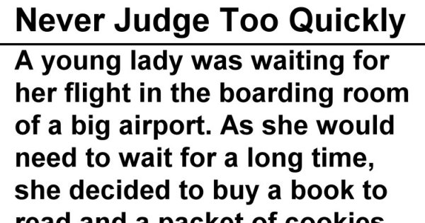 Woman Gets Mad at Stranger Who Ate Her Cookies, She Learns an Embarrassing Lesson Instead