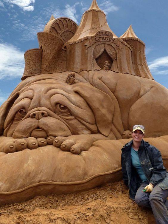 Wonderful sand art