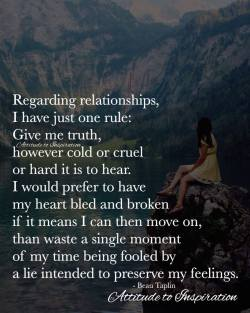 <3 Regarding relationships …