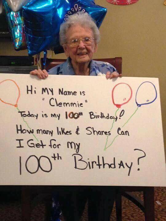 Happy Birthday Clemmie