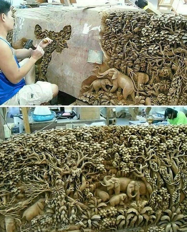 """""""Carved out of solid rock…"""""""