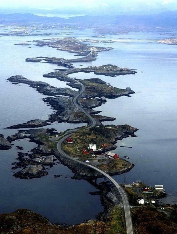 The Atlantic Ocean Road in Norway