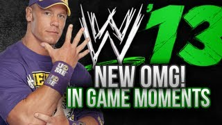 WWE 13 The Game – New OMG! Moments Feature (Finisher Like Icon)