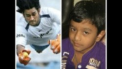 MS DHONI – TRUE INSPIRATION FOR MANY KIDS