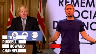 How the Government has Dealt with COVID this Year | The Russell Howard Hour