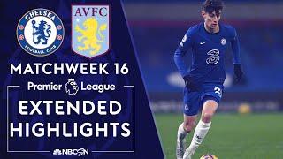 Chelsea v. Aston Villa   PREMIER LEAGUE HIGHLIGHTS   12/28/2020   NBC Sports