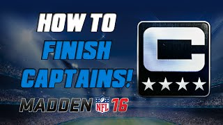 How To Finish Captain Sets Quickly! | Madden 16 Ultimate Team – MUT 16 Tips ep. 3