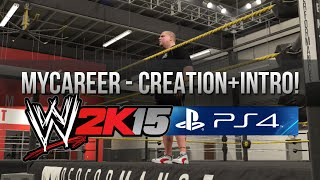 WWE 2K15 (PS4) – MyCareer Intro + Creation Suite! (KEVIN OWENS)