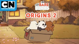 We Bare Bears Origin Stories: Part 2 | Cartoon Network