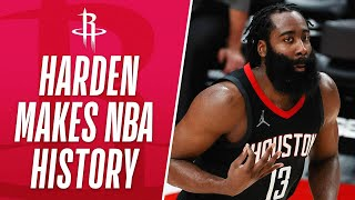 Harden Becomes 1st Player In NBA HISTORY To Drop 40+ PTS & 15+ AST In Their 1st Game Of The  ...