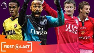 Legendary Premier League forwards' first & last goals | Henry, Solskjaer & more! | Part 2
