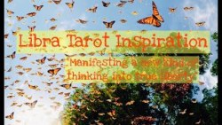 "Libra Tarot-Yoga Inspiration ""Manifesting a new kind of thinking into true liberty"""