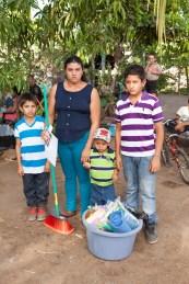 The Ayala Family at the key ceremony