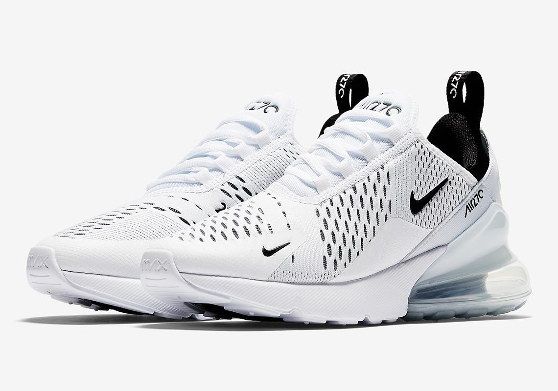 Nike Air Max 270 White Black | AH8050