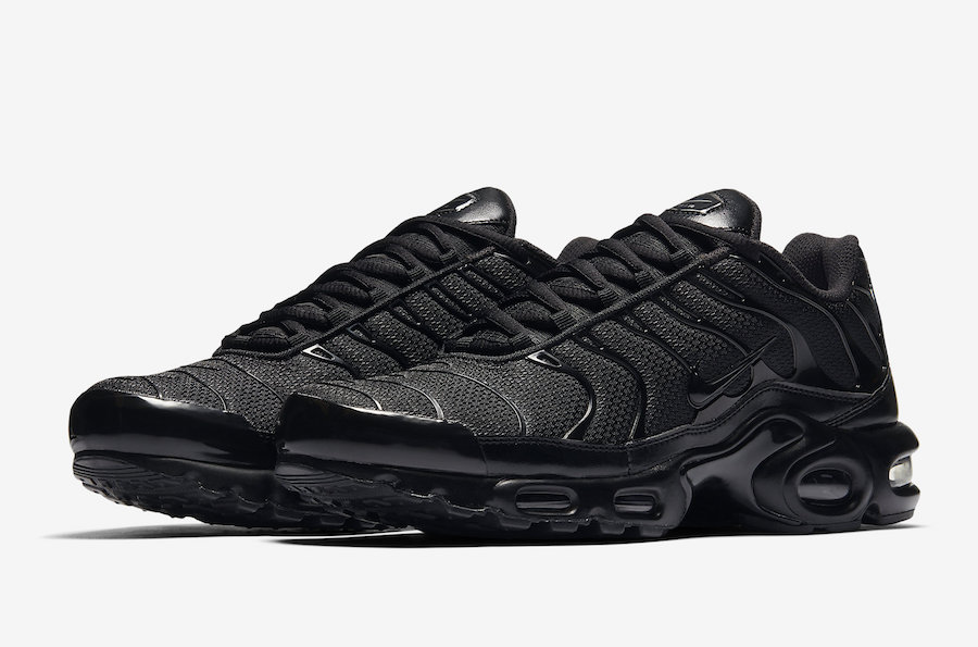 promo code a5a4f 55d90 Nike Air Max Plus Tn Triple black 604133-050