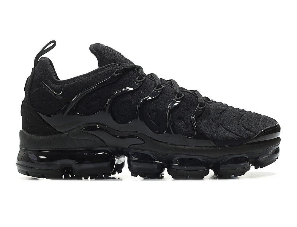the best attitude 39399 50831 Nike Air VaporMax Plus All Black 924453-004