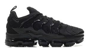 233a74469f2b0 Nike Air VaporMax Plus All Black 924453-004 ...