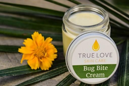 Bug bite cream