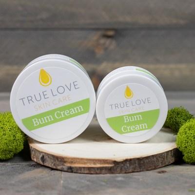 True Love Skin Care Bum Cream
