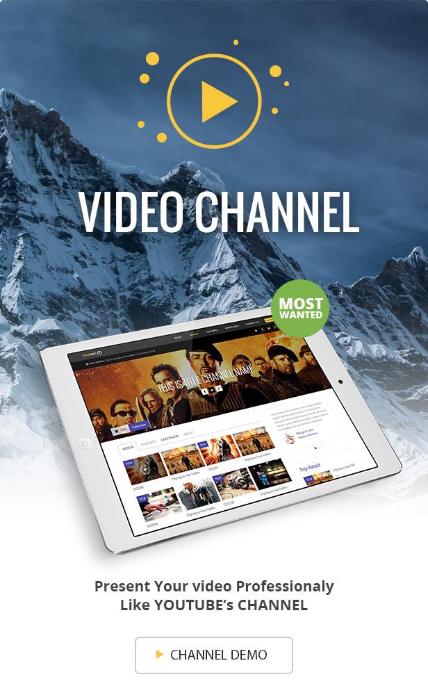 True Mag - WordPress Theme for Video and Magazine - 6