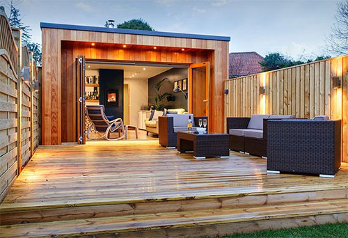 How to Convert a Shed into a Man Cave 5
