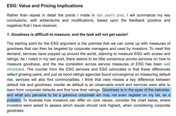 Is ESG, Bitcoin Energy Criticism, Fascist?