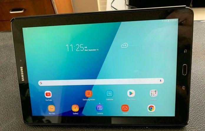 SAMSUNG Galaxy Tab A SM-P580 10.1-Inch 16GB Wi-Fi Tablet (missing S pen)