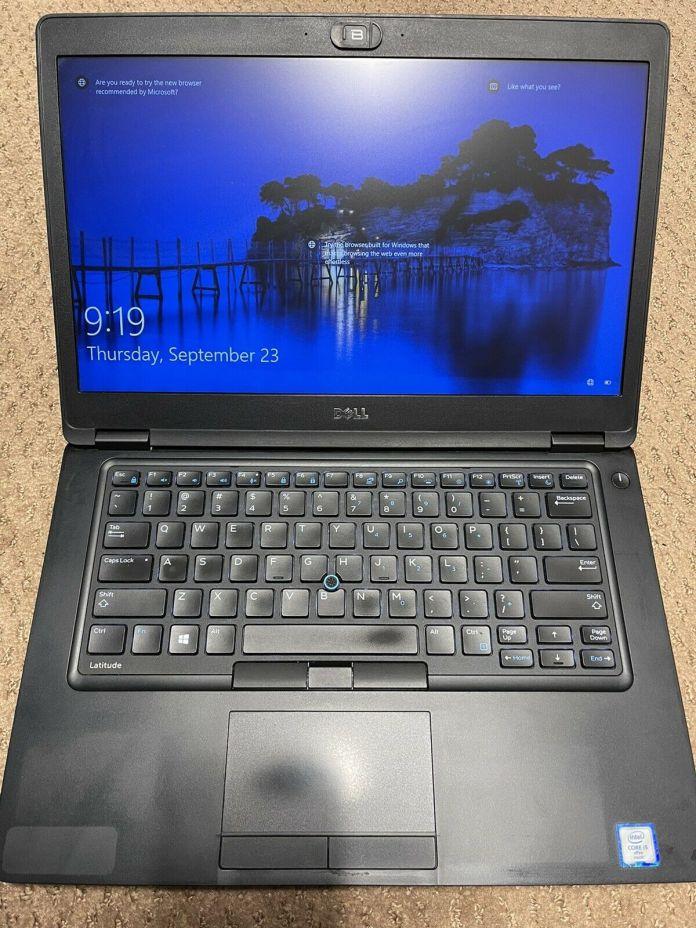 Dell Latitude 5480 Intel Core i5 8GB RAM 256GB SSD Win10Pro