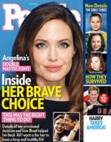 Angelina Jolie BRCA People Magazine