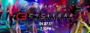 Charity Ride - Cyclin' for a Cause @ Cyclebar | Hoboken | New Jersey | United States