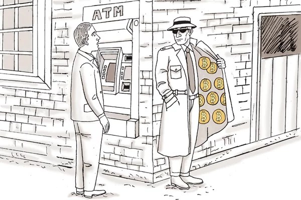 bitcoin cartoon