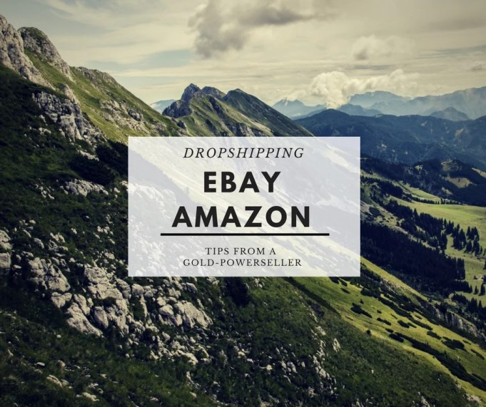 ebay amazon dropshipping tips