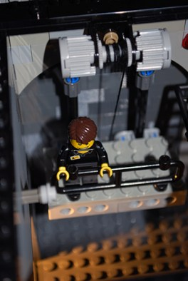 MOC LEGO Store freight elevator mechanism.