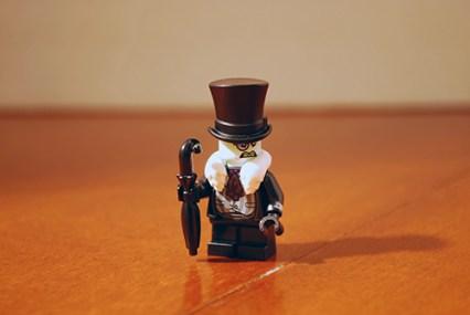 LEGO Penguin front view.