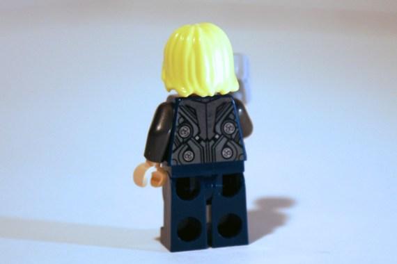 LEGO Thor rear view.