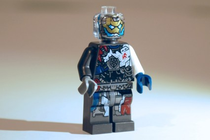 LEGO Ultron MK 1 front view.