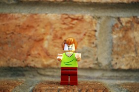 LEGO Shaggy alternate face