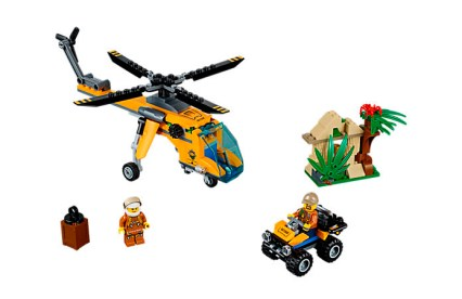 Jungle Cargo Helicopter [60158], $29.99