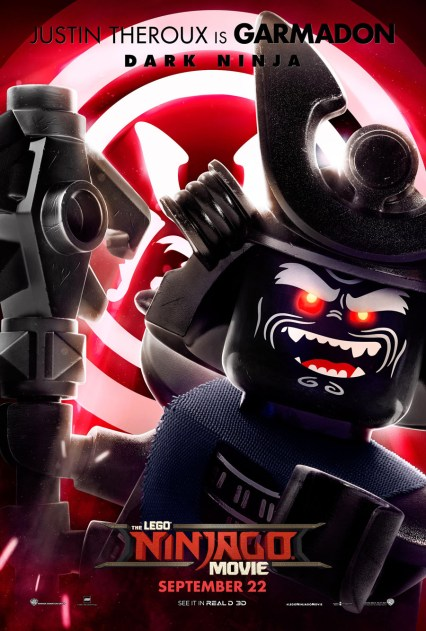 Official Ninjago Movie Garmadon character poster