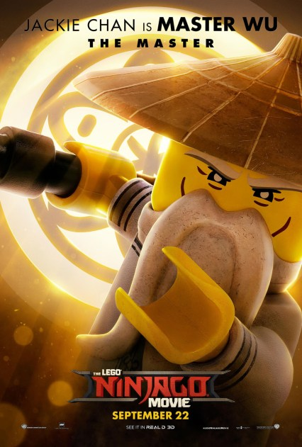 Official Ninjago Movie Wu character poster
