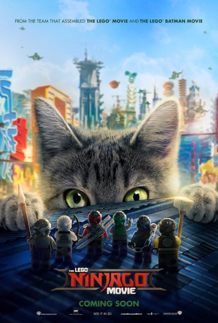 Official LEGO Ninjago Movie poster