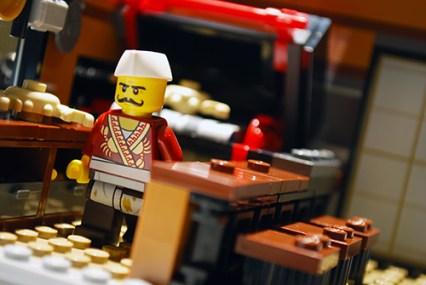 LEGO Ninjago City crab restaurant.