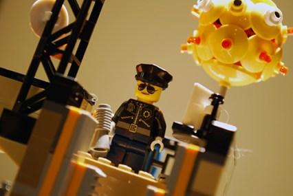 Police officer in LEGO Ninjago City.