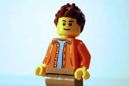 This is the Minifigure photo that turned into Ben Affleck in my LEGO-fied Armageddon poster.