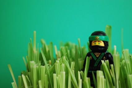 The original Lloyd photo used in this LEGO-fied project.