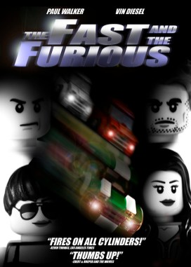 The Fast and the Furious LEGO-fied