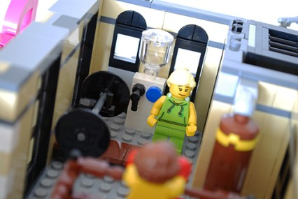 LEGO Downtown Diner Gym