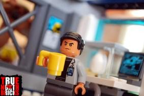 Dr. Wu from LEGO's Stygimoloch Breakout.