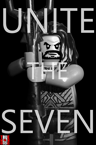 LEGO Aquaman - Unite the Seven poster